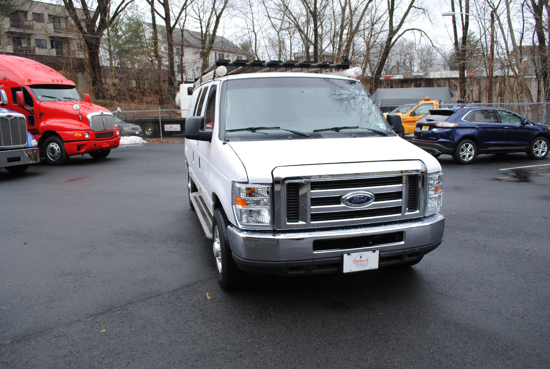 2011 Ford E250 Cargo Van White 001 Cinemacar Leasing