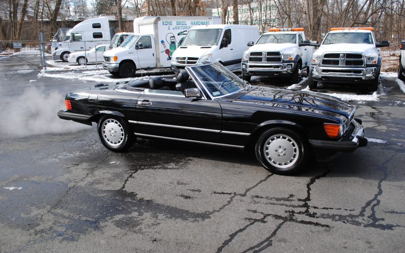 1989 MERCEDES BENZ 560 SL BLACK 002