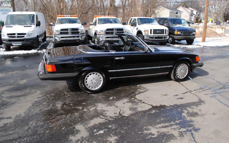 1989 MERCEDES BENZ 560 SL BLACK 003