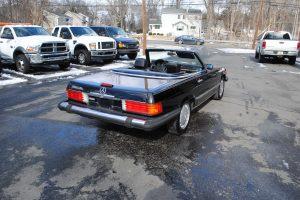 1989 MERCEDES BENZ 560 SL BLACK 004