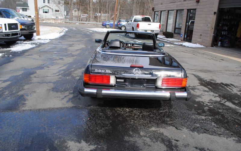 1989 MERCEDES BENZ 560 SL BLACK 005