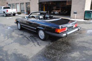 1989 MERCEDES BENZ 560 SL BLACK 006