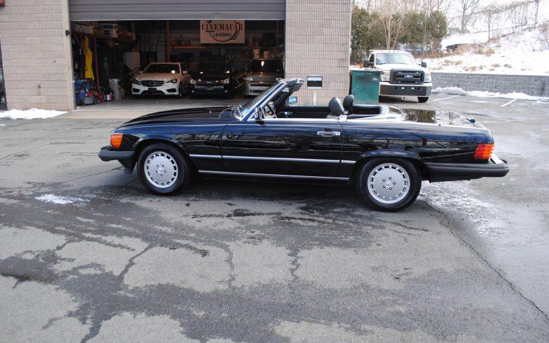 1989 MERCEDES BENZ 560 SL BLACK 007