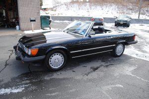 1989 MERCEDES BENZ 560 SL BLACK 008