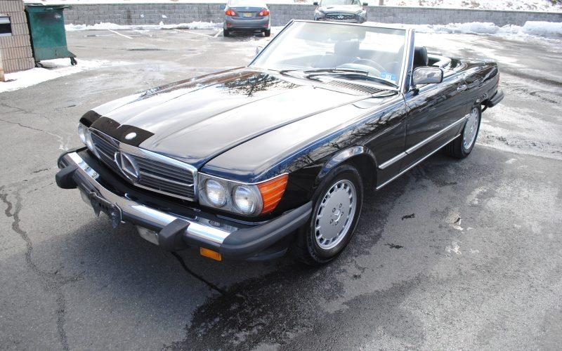 1989 MERCEDES BENZ 560 SL BLACK 009