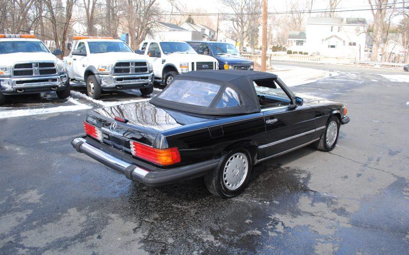 1989 MERCEDES BENZ 560 SL BLACK 010