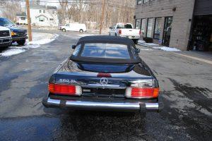 1989 MERCEDES BENZ 560 SL BLACK 011