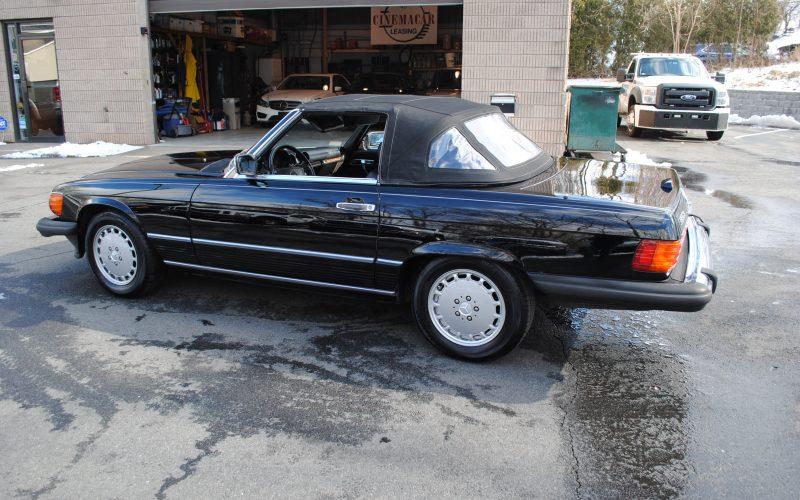 1989 MERCEDES BENZ 560 SL BLACK 012
