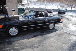 1989 MERCEDES BENZ 560 SL BLACK 013