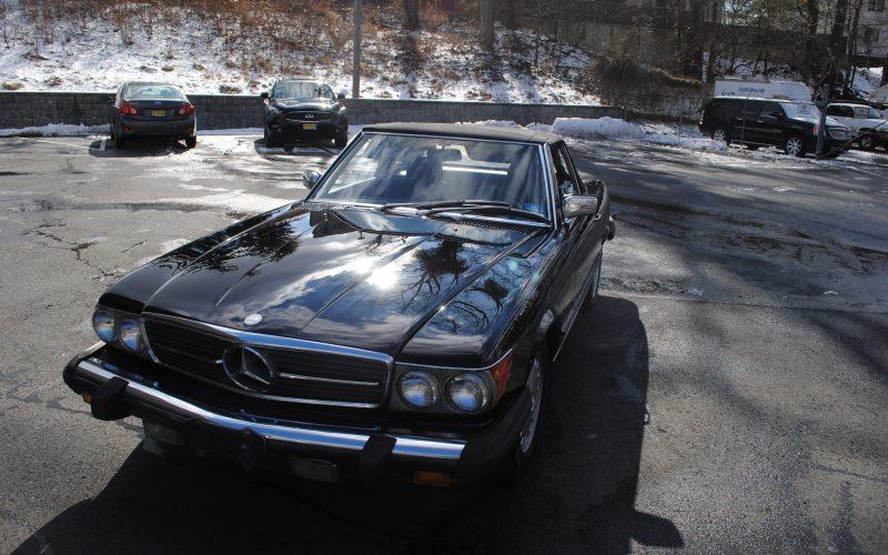 1989 MERCEDES BENZ 560 SL BLACK 014