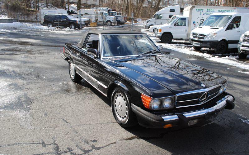 1989 MERCEDES BENZ 560 SL BLACK 015