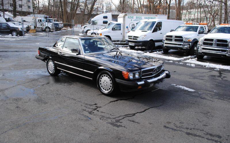 1989 MERCEDES BENZ 560 SL BLACK 016