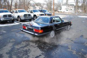 1989 MERCEDES BENZ 560 SL BLACK 018