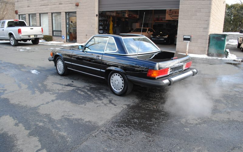 1989 MERCEDES BENZ 560 SL BLACK 020