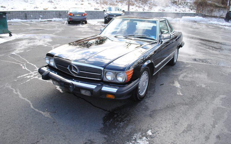 1989 MERCEDES BENZ 560 SL BLACK 022