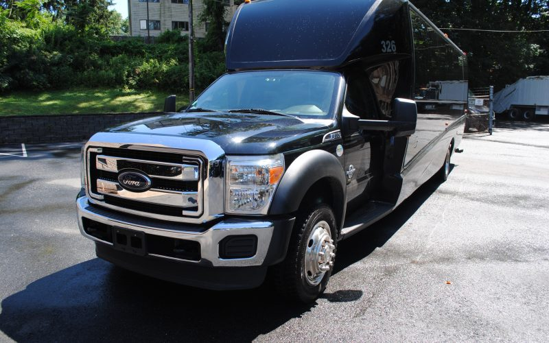 2014 FORD F550 GRECH 33 SHUTTLE BUS 018
