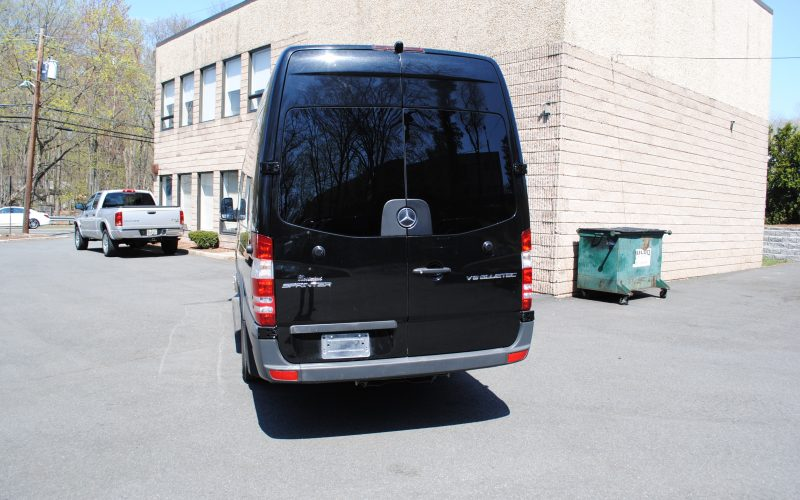 2016 MERCEDES BENZ SPRINTER 3500 BLACL 201 005