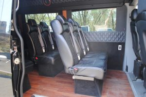 2016 MERCEDES BENZ SPRINTER 3500 BLACL 201 011