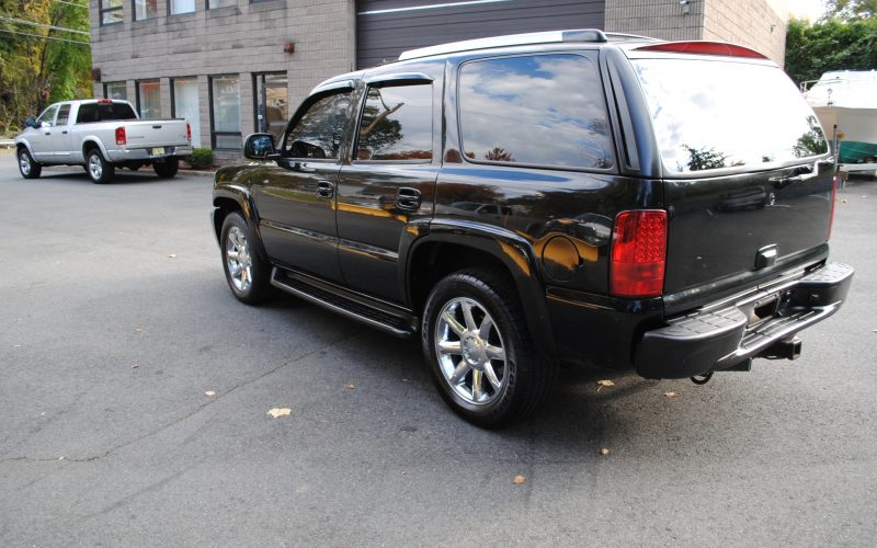 2005 CHEVY TAHOE Z71 BLACK BLACL 2 007