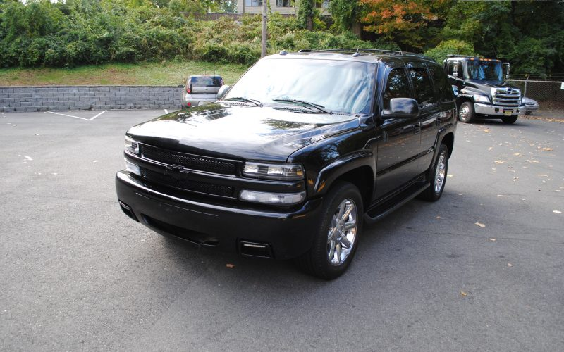 2005 CHEVY TAHOE Z71 BLACK BLACL 2 009
