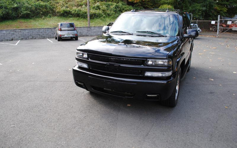 2005 CHEVY TAHOE Z71 BLACK BLACL 2 010